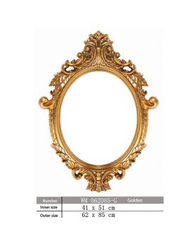 China Oval Frames Wholesale Custom Picture Mirror Frames Soa Arts